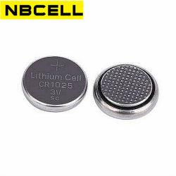 3V CR1025 pile bouton lithium Pile au lithium de la batterie