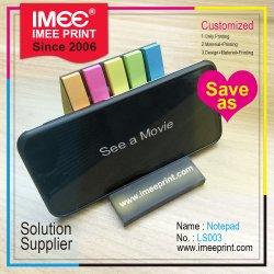 Imee seis colores de impresión personalizada de Opciones de papel 2 en 1 Funciones Soporte para teléfono y Mini Nota adhesiva en el Memo