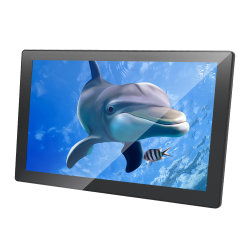 15 inch HD Shopping Mall/Bus/Car Advertising Media Video LCD Display, Digital Signage Player