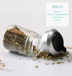 De in het groot Opslag die van het Glas van het Kruid de Zoute Fles van de Peper met het Deksel van het Metaal van het Gat van de Schroef verpakken