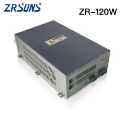 Commerce de gros 100W 120W Alimentation du laser pour la machine de découpe laser