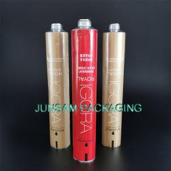 Stampa variopinta cosmetica flessibile del contenitore di imballaggio del tubo di alluminio vuoto