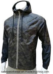La moda casual chaqueta impermeable impresos con alta calidad