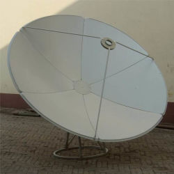C Band 2,4 3 3,7 M 12 10 8 pieds/TV/Satellite TV HD/Wimax antenne satellite Prime Focus récepteur de signal
