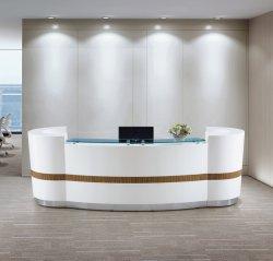 Table de réception Réception Compteur Compteur compteur table bureau COMMANDER Meubles de bureau moderne nouveau Design Fashion haute brillance compteur caissier de table