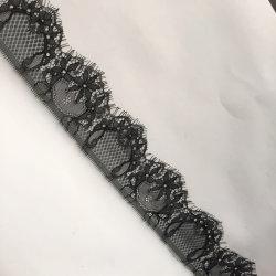 A última moda Eyelash Guarnição Lace 7 cm para roupa