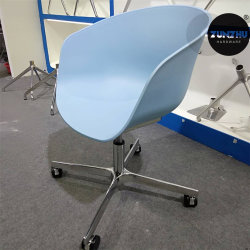 Qualitäts-Stuhl-Rahmen mit 2.0mm Stärken-Metallgefäß-Gussaluminium-Unterseite