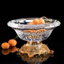 Mode kleurrijke Crystal Glass fruit Bowl