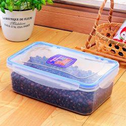 FDA de Container van de Opslag van het Voedsel, Containers van het Voedsel van het Huishouden de Plastic Luchtdichte met Slot