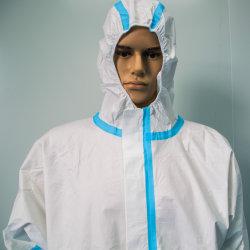 Commercio all'ingrosso a gettare della tuta dell'abito del vestito protettivo del nuovo prodotto della tuta di CBE dell'abito del vestito dell'abito a gettare generale protettivo del materiale a gettare a gettare