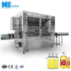 Machine de remplissage d'huile de jatropha en bouteille pour bouteille Pet de soja raffinée