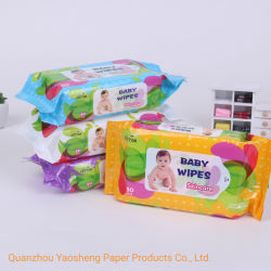 2020 Wipes bagnati di vendita caldi 80PCS del bambino che puliscono la carta velina bagnata