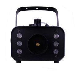 LED, DMX 및 무선 통제3 에서 1 6PCS 세 배 색깔을%s 가진 1500W 안개 기계