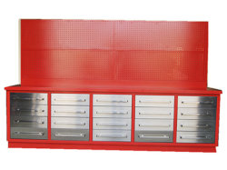 Tiroir Workbench avec panneau garage Armoires de l'outil