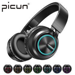 Picun B6 Les écouteurs stéréo Bluetooth des casques sans fil avec Microphone 12h le temps de lecture