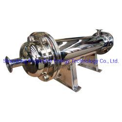 De aço inoxidável 316 a Shell e o tubo do permutador de calor de condensação de vapor