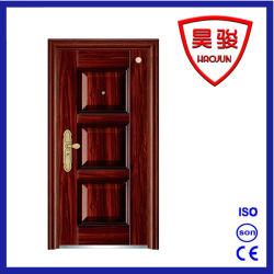 L'acier Best-Selling sécurité extérieure de porte de fer avec une bonne conception de haute qualité
