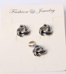 مجوهرات أزياء على شكل قلب مع حجر الراين