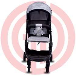 Einfacher faltender Aluminiumrahmen-Baby-Spaziergänger
