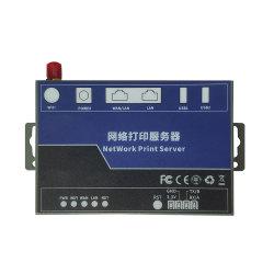 Servidor de impressão de rede WiFi sem fio da impressora USB 1 porta USB