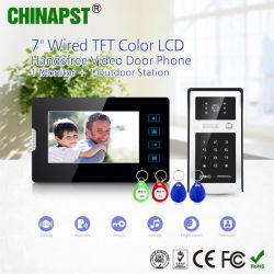 Kit collegato del telefono del portello della villa Handsfree di prezzi all'ingrosso video con la scheda di identificazione (PST-VD07T-IDS)