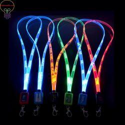 أوراق عمل LED بطاقات تعليق الحبل، بطاقات الصدر الوامضة، ورق قصير