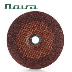 酸化アルミニウムの研摩の製品5の6石造りの金属ディスク粉砕車輪の磨く鋼鉄