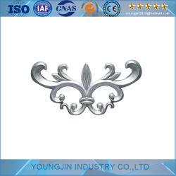 Литой алюминиевый ворота декоративных алюминиевых цветочный декор ограждения из алюминия