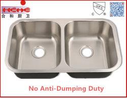 Unterbau Edelstahl Waschküche Waschbecken mit Cupc