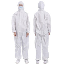 كيميائيّة طبيّة حماية دعوى مستهلكة [بروتكتيف كلوثينغ] أمان عمل لباس [نونووفن] ميدعة