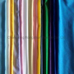 La fábrica 100% poliéster tejido liso teñido Bedsheet