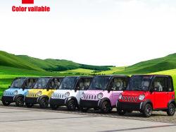 중국 4 전송자를 위한 4대의 시트 소형 실용적인 전기 모터 관광 차
