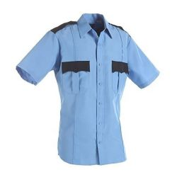 بالجملة قطن زرقاء بدلة حارسة محدّد خاصّ أمن بدلة رجل قميص رخيصة
