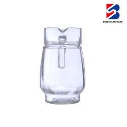 Обработанные 1,5 высокого качества Clear прозрачные соды известь стекло стекло питьевой кувшин