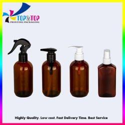 Zoll 500ml leeren Haustierplastikbrown-Triggerspray-Lotion-Pumpen-Flasche für Spiritus-Handdesinfizierer-Desinfektion