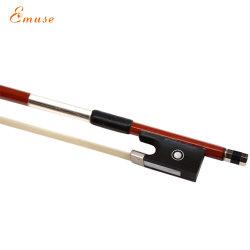 Studenten Beginner achthoekige Ebony Violin/Viola/Cello/Double Bass Bow