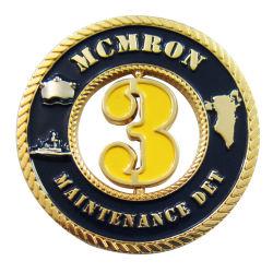 専門の習慣は私達国旗の骨董品の軍隊Logo&#160の名誉の記念品の硬貨の金属の芸術のクラフトの警察の硬貨のバッジを与える; (406)