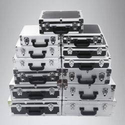 폼 장비가 있는 알루미늄 도구 케이스 케이스 케이스 케이스 플라이트 박스