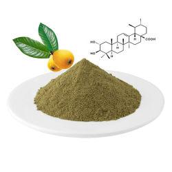 저혈압 Loquat 잎 추출 Corosolic 산 10% 분말 인슐린 플랜트