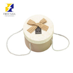 Luxury Craft Round Hat Rigid Paper Box, Cardboard Jewelry Gift Packing Box, Tea/Coffee/Red Wine/Flower/Candy Chocolate를 위한 Tube Packaging Boxes를 예약했다