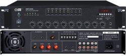250 واط Professional ذات ست مناطق الجهد مضخم صوت PA مدبر صوت داخلي لقيد التشغيل، موسيقى خلفية، إعلان