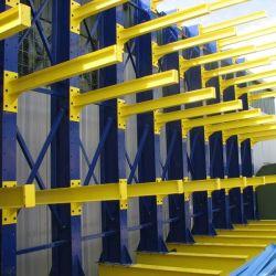 Ebil-Stahl Q235 Hochleistungslager-Speicherplatzverwaltungs-Streifen-Material-freitragendes Racking