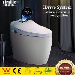 Casa de banho em cerâmica Eléctrico Sanitaryware Vaso Sanitário Ai Funções Wc inteligente
