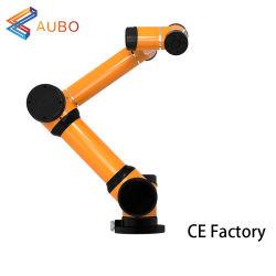 Aubo i5 6 Axis Robot ARM 5kg Payload 880mm Pick ووضع التطبيق لحام الروبوت السعر رذاذ الطلاء كوب