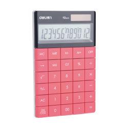 Cadeaux de promotion de la calculatrice colorés pénal solaire LCD 12 chiffres de la calculatrice de poche électronique