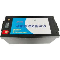 Batterie portable lithium LiFePO4 24 V 200 ah rechargeable pour l'énergie de stockage