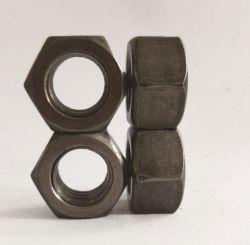 低炭素の明白な終わりの重い十六進コイルのナット