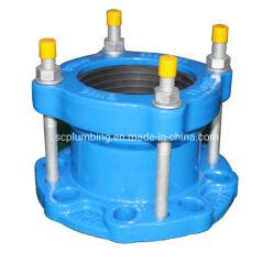 El hierro dúctil Di junta universal de montaje del tubo adaptador de brida universal para tubo de PVC de acero Di