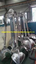 Le moulin à papier/usines alimentaires utiliser Grab Grue en acier inoxydable spécial
