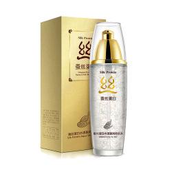 La esencia de la proteína de seda natural en el tóner seco de reparación de calmar la piel dañada de control de aceite de la piel hidratación hidratante líquido